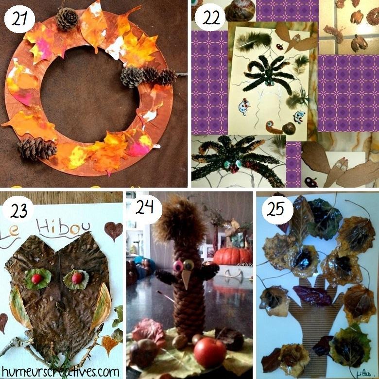 idées bricolages pour enfants à faire avec la nature (6)