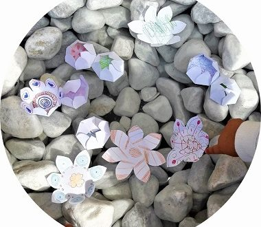 Expérience avec les enfants : les fleurs magiques