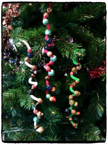 Tourbillons de Noël à suspendre