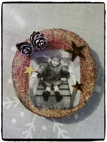 Magnets photo, souvenirs de Noël