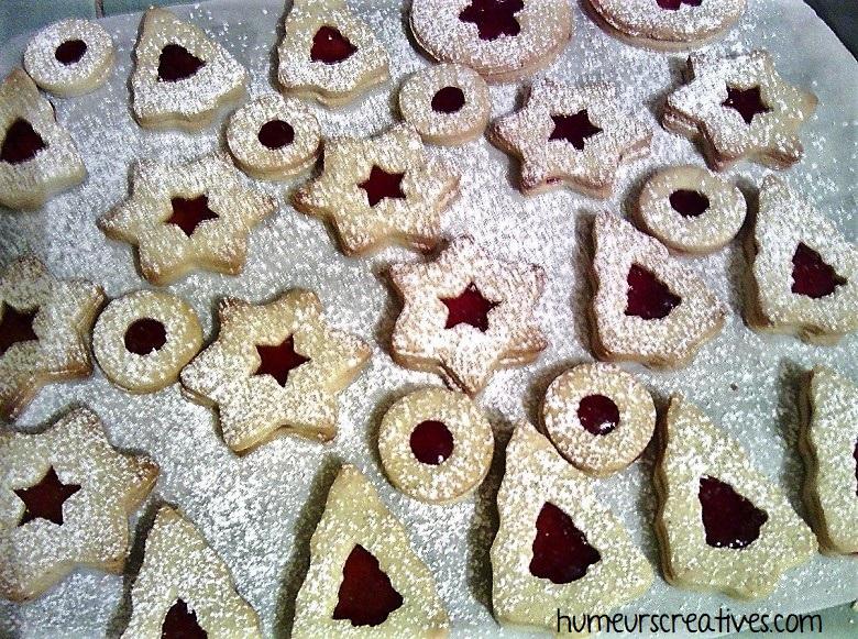recette des biscuits à la confiture