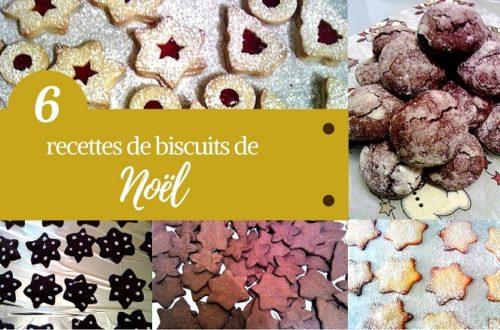 6 recettes de biscuits de noel