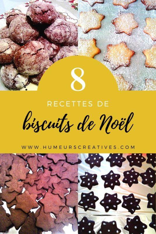 6 recettes de biscuits de noel facile à faire