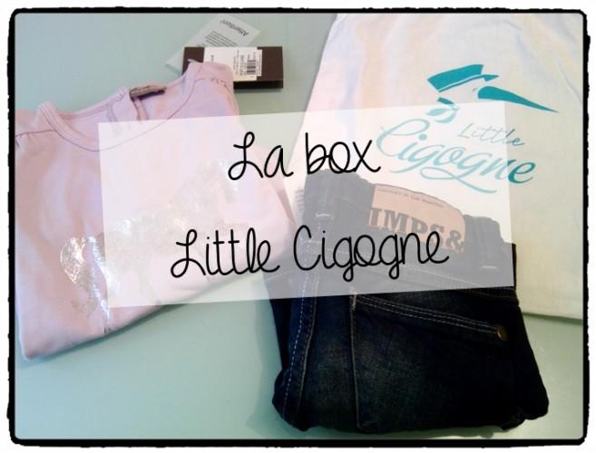 La box vêtements pour enfants, Little Cigogne