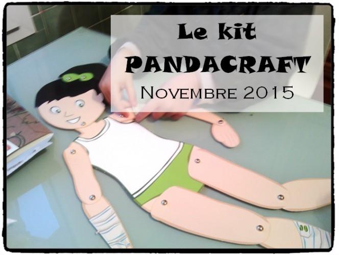 Pandacraft, le kit créatif pour les 3-7 ans #2