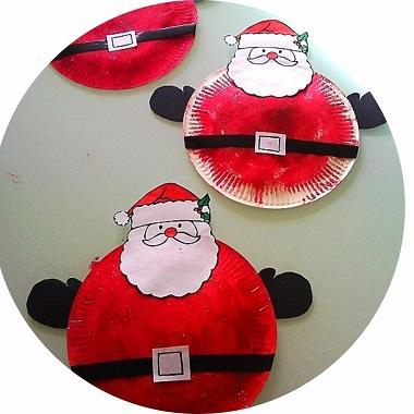 Fabriquer un Père Noël avec les enfants