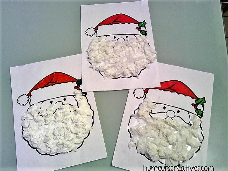 Nos Pères-Noël réalisés par les enfants