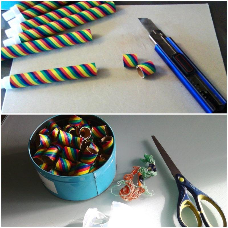 fabriquer des perles avec des sarbacanes