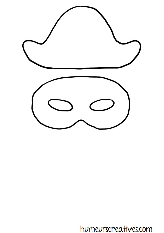 printable masque arlequin à imprimer