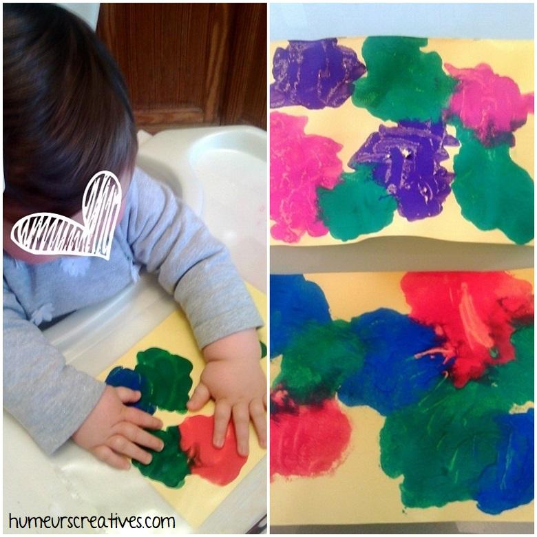 peinture propre pour réaliser des oeufs de paques