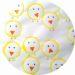 bricolage de paques pour enfants : des poussins en empreintes de rouleaux de papier toilette
