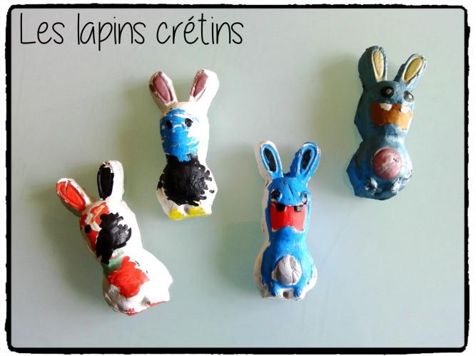 Les lapins crétins aimantés