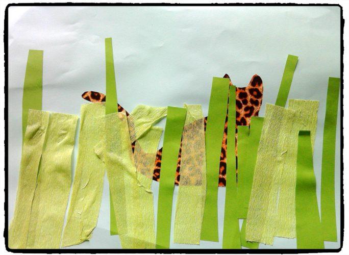 Nos léopards cachés dans l'herbe