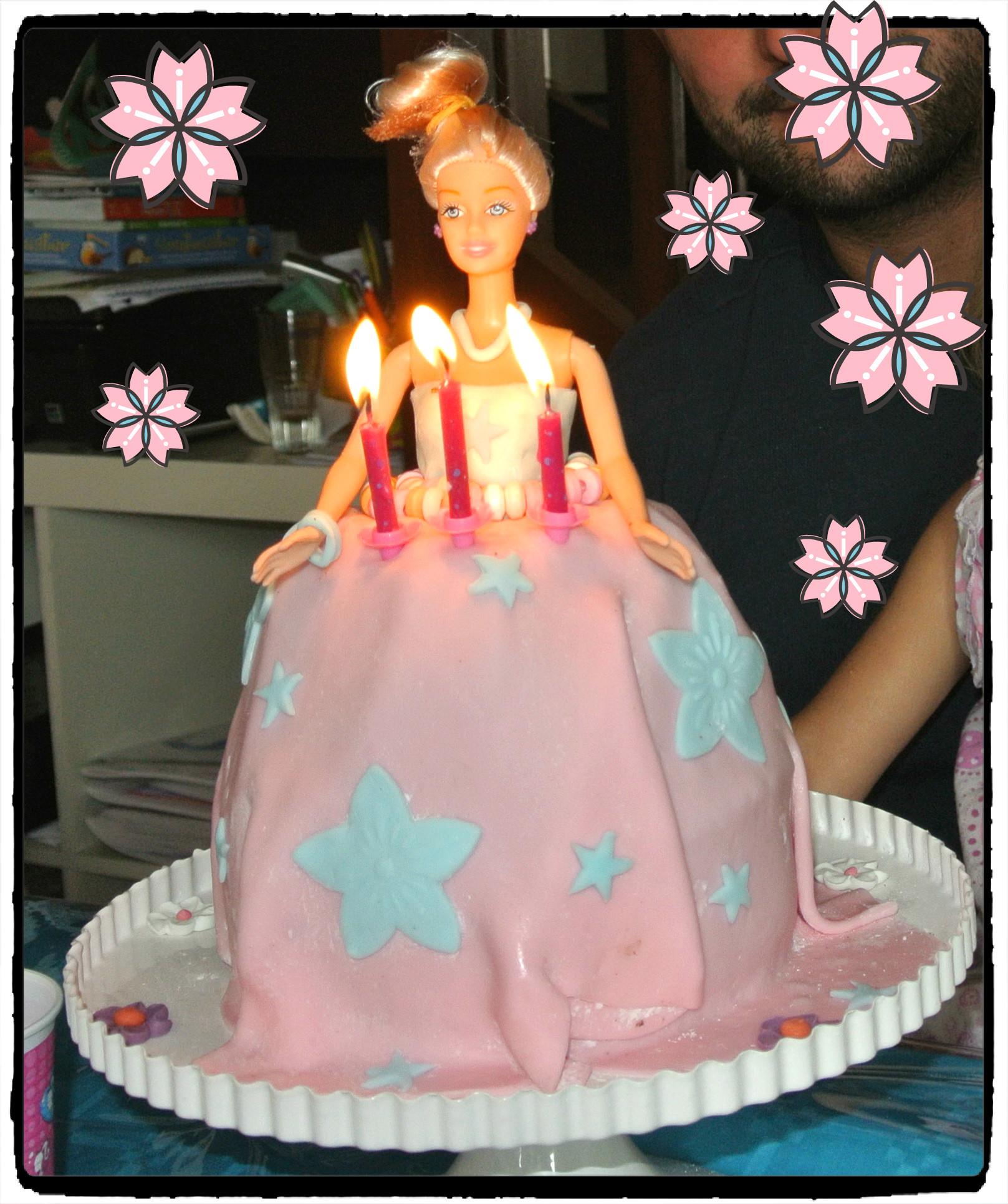 Anniversaire Barbie Pour Les 3 Ans D Anya Humeurs Creatives