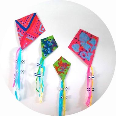 Bricolage pour enfant : fabriquer un cerf volant en papier