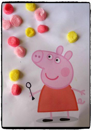 Peppa Pig fait des bulles