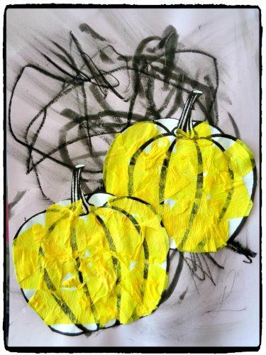 Citrouilles d'automne