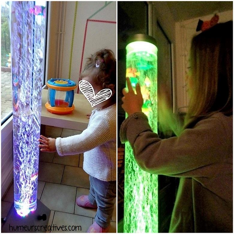 découverte de la tour sensorielle avec les enfants