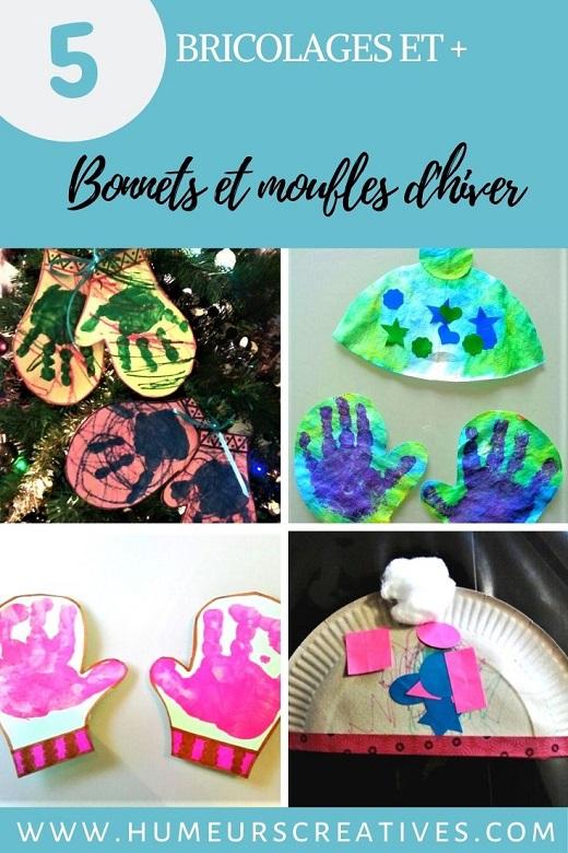 5 idées et + pour fabriquer des gants et bonnets avec les enfants