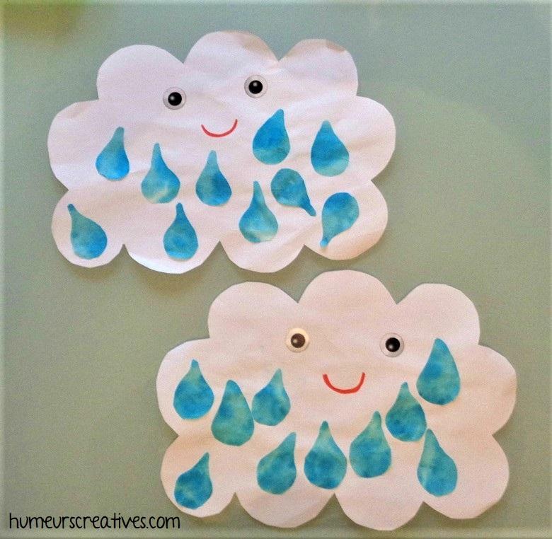 DIY nuage de pluie