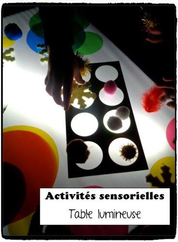 Activité table lumineuse #3
