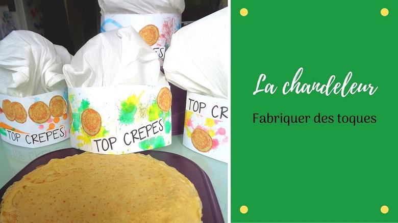 Bricolage pour la Chandeleur : fabriquer des toques avec les enfants