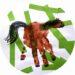 Bricolage pour enfant : un cheval en empreinte de main