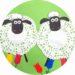 Bricolage mouton en papier
