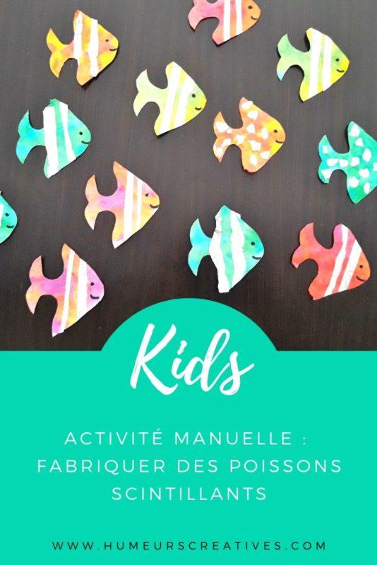 Bricolage pour enfants : réaliser des poissons avec des filtres à café