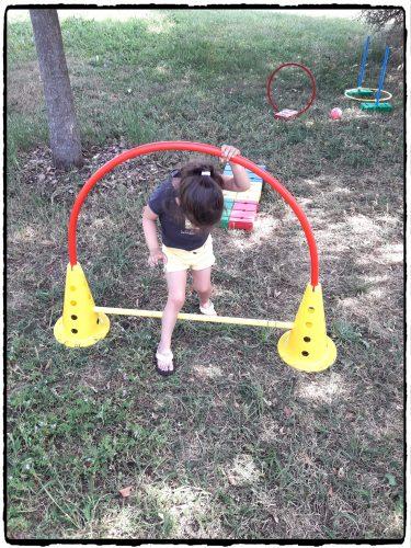 Parcours de motricité pour enfants