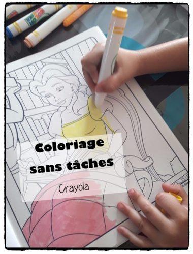 Coloriage sans tâches