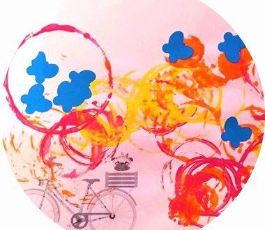 Activité manuelle pour enfant : un été en bicyclette