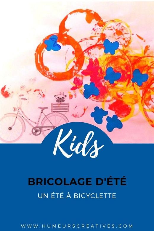 Bricolage d'été pour les enfants : un été en bicyclette