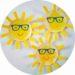 Bricolage pour enfant : réaliser un soleil avec une assiette en carton
