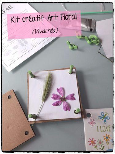 Kit créatif Art Floral (Vivacréa)