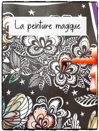 La peinture magique (Usborne)