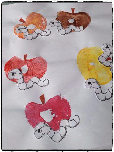 Pommes et petits vers