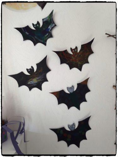 Les chauves-souris d'Halloween
