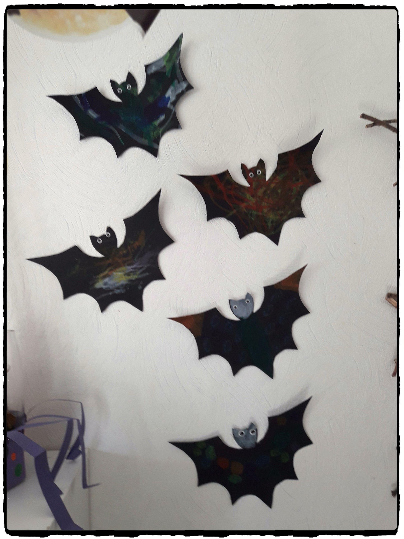 J Ai Une Souris Dans Mon Mur les chauves-souris d'halloween -