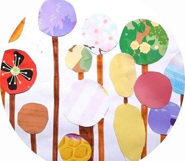 bricolage lollipop trees pour enfants