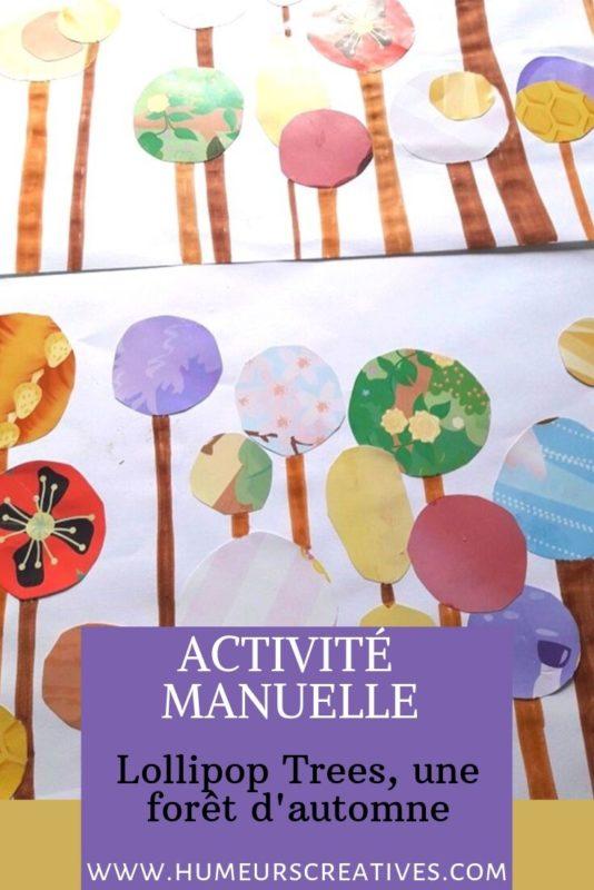 Bricolage d'automne : lollipop trees, réaliser une foret d'automne avec les enfants