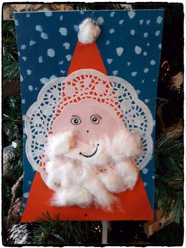 Un Père Noël dentelles