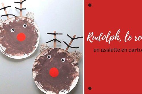 Bricolage de noel : fabriquer un renne avec les enfants