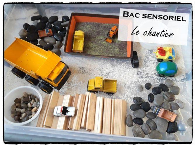 Bac sensoriel Le chantier