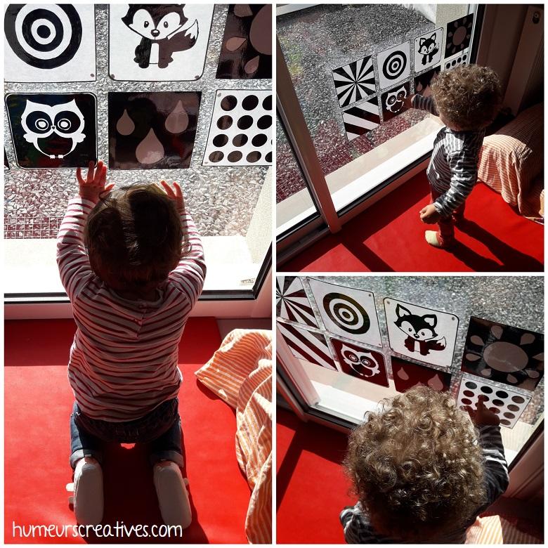 activité sensorielle pour enfants : les images contrastées