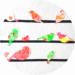 bricolage de printemps pour les enfants : fabriquer de jolis oiseaux à la peinture