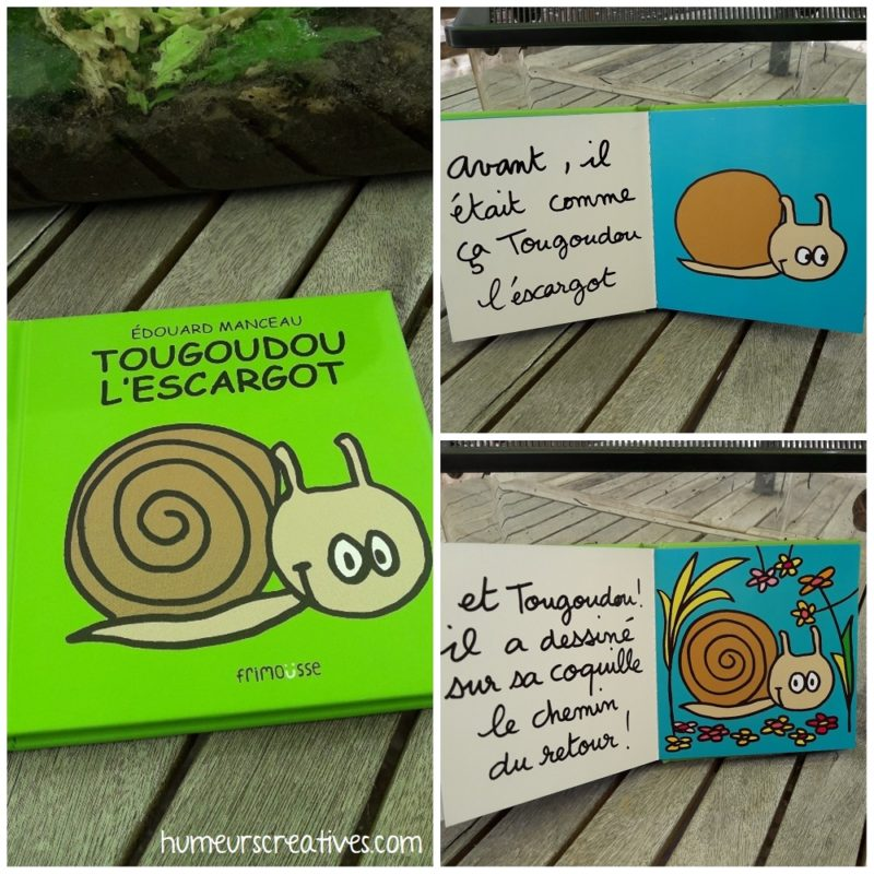 Livre Tougoudou l'escargot