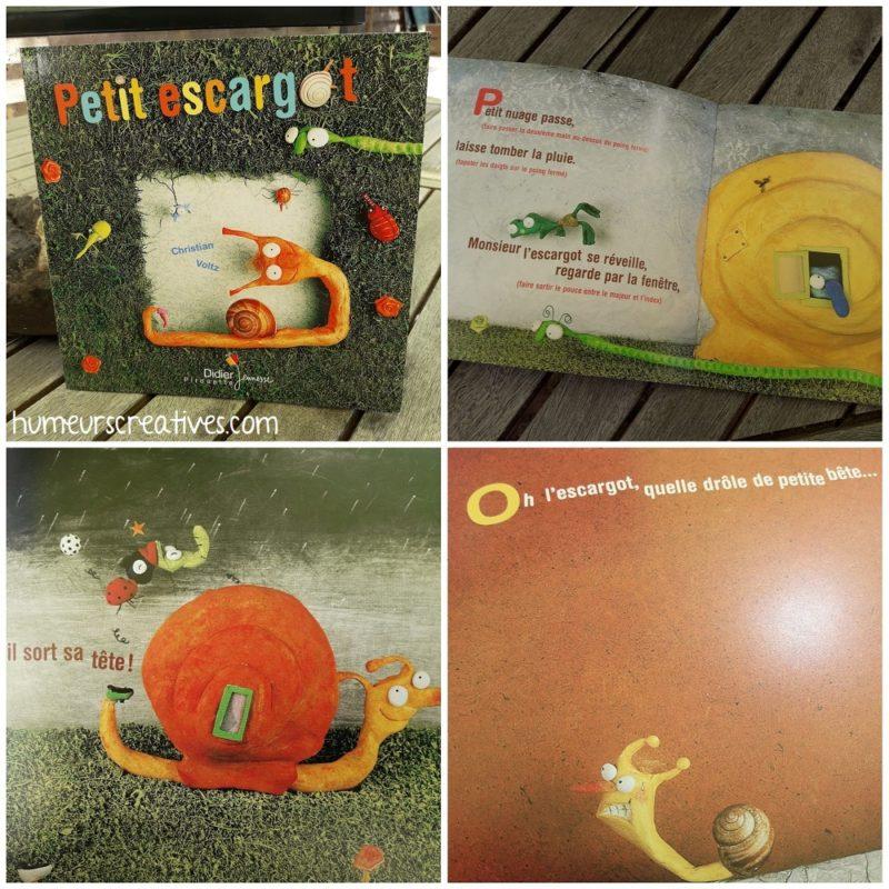 Livre Petit Escargot de Christian Voltz