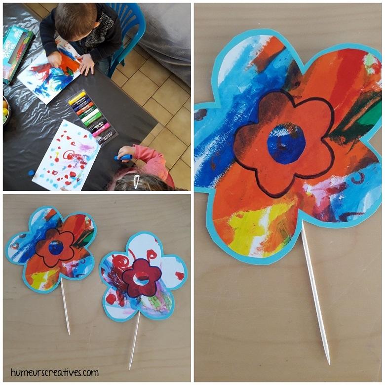 décoré une fleur