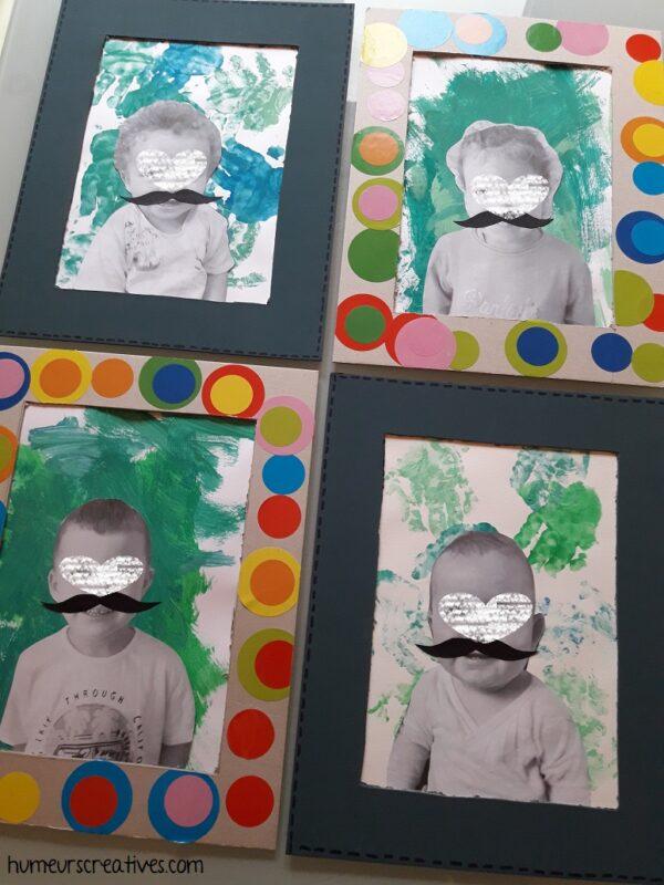 4 tableaux pour la fête des Pères